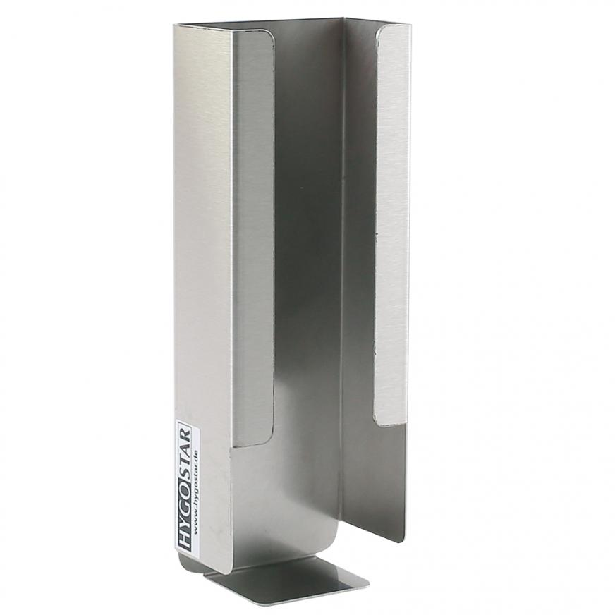 DISPENSER holder (stainless steel) for paper facemasks