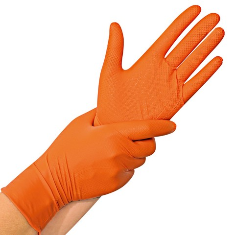 ΓΑΝΤΙ NITRIL PFR POWERGRIP ORANGE (50)
