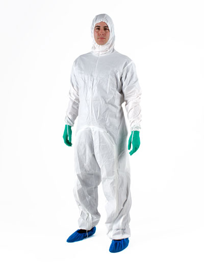 DROP-DOWN STERILE GARMENT WITH HOOD
